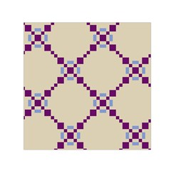 Pattern Background Vector Seamless Small Satin Scarf (square)