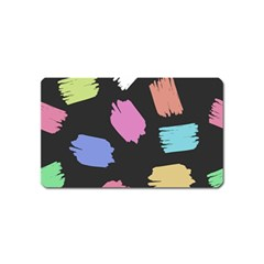 Many Colors Pattern Seamless Magnet (name Card) by Nexatart