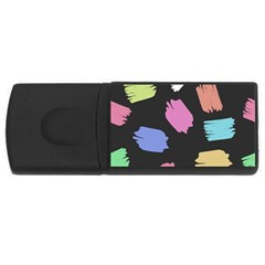 Many Colors Pattern Seamless Usb Flash Drive Rectangular (4 Gb) by Nexatart