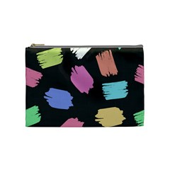Many Colors Pattern Seamless Cosmetic Bag (medium)