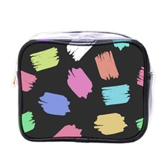 Many Colors Pattern Seamless Mini Toiletries Bags by Nexatart