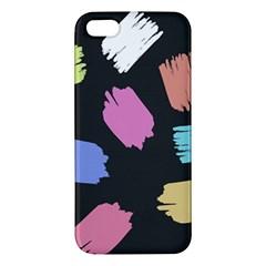 Many Colors Pattern Seamless Apple Iphone 5 Premium Hardshell Case