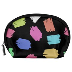 Many Colors Pattern Seamless Accessory Pouches (large)