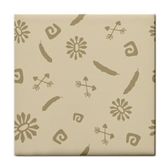 Pattern Culture Seamless American Tile Coasters