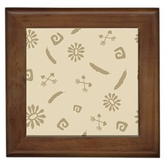 Pattern Culture Seamless American Framed Tiles