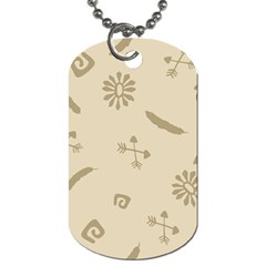 Pattern Culture Seamless American Dog Tag (two Sides) by Nexatart