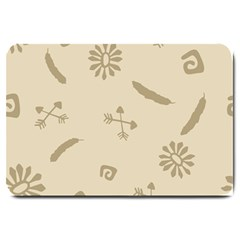 Pattern Culture Seamless American Large Doormat  by Nexatart