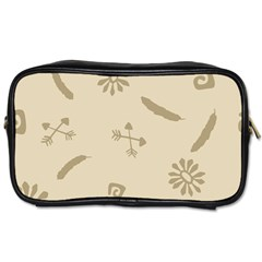 Pattern Culture Seamless American Toiletries Bags by Nexatart