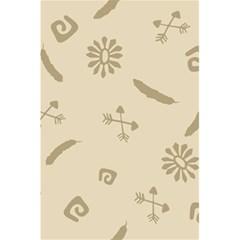 Pattern Culture Seamless American 5 5  X 8 5  Notebooks by Nexatart