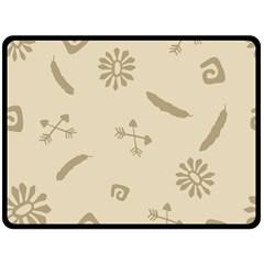 Pattern Culture Seamless American Fleece Blanket (large)