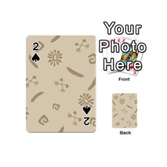 Pattern Culture Seamless American Playing Cards 54 (mini)  by Nexatart