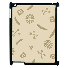 Pattern Culture Seamless American Apple Ipad 2 Case (black) by Nexatart