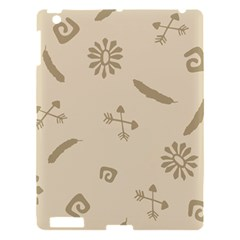 Pattern Culture Seamless American Apple Ipad 3/4 Hardshell Case by Nexatart