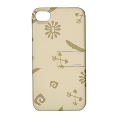 Pattern Culture Seamless American Apple Iphone 4/4s Hardshell Case With Stand