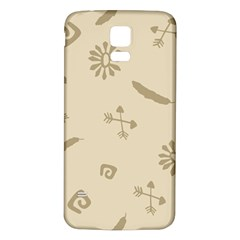 Pattern Culture Seamless American Samsung Galaxy S5 Back Case (white) by Nexatart