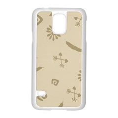 Pattern Culture Seamless American Samsung Galaxy S5 Case (white) by Nexatart