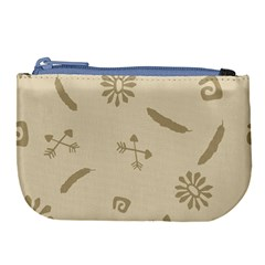Pattern Culture Seamless American Large Coin Purse by Nexatart