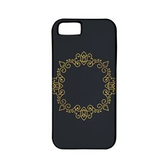 Monogram Vector Logo Round Apple Iphone 5 Classic Hardshell Case (pc+silicone) by Nexatart