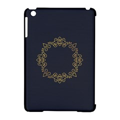 Monogram Vector Logo Round Apple Ipad Mini Hardshell Case (compatible With Smart Cover) by Nexatart