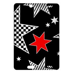 Stars Seamless Pattern Background Amazon Kindle Fire Hd (2013) Hardshell Case by Nexatart