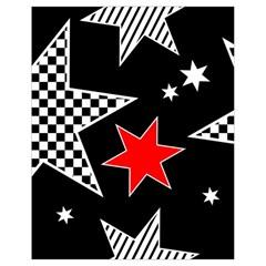 Stars Seamless Pattern Background Drawstring Bag (small) by Nexatart