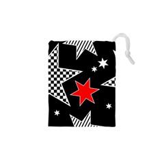 Stars Seamless Pattern Background Drawstring Pouches (xs)  by Nexatart