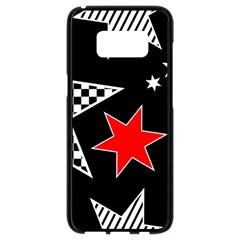 Stars Seamless Pattern Background Samsung Galaxy S8 Black Seamless Case