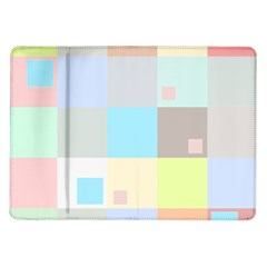 Pastel Diamonds Background Samsung Galaxy Tab 10 1  P7500 Flip Case