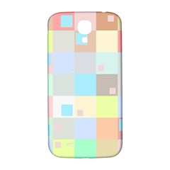 Pastel Diamonds Background Samsung Galaxy S4 I9500/i9505  Hardshell Back Case by Nexatart