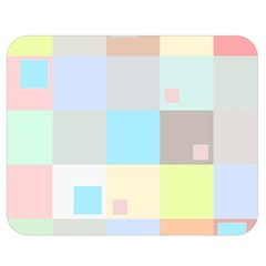 Pastel Diamonds Background Double Sided Flano Blanket (medium)  by Nexatart