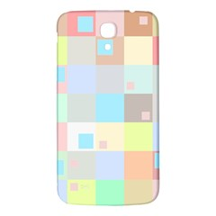 Pastel Diamonds Background Samsung Galaxy Mega I9200 Hardshell Back Case by Nexatart