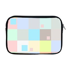Pastel Diamonds Background Apple Macbook Pro 17  Zipper Case