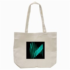 Wave Pattern Vector Design Tote Bag (cream)