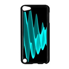 Wave Pattern Vector Design Apple Ipod Touch 5 Case (black)