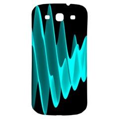 Wave Pattern Vector Design Samsung Galaxy S3 S Iii Classic Hardshell Back Case by Nexatart