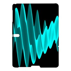 Wave Pattern Vector Design Samsung Galaxy Tab S (10 5 ) Hardshell Case  by Nexatart