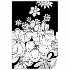 Mandala Calming Coloring Page Canvas 20  X 30   by Nexatart