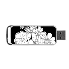 Mandala Calming Coloring Page Portable Usb Flash (one Side) by Nexatart