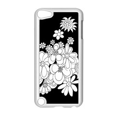 Mandala Calming Coloring Page Apple Ipod Touch 5 Case (white) by Nexatart
