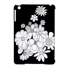 Mandala Calming Coloring Page Apple Ipad Mini Hardshell Case (compatible With Smart Cover) by Nexatart