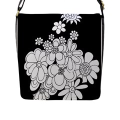 Mandala Calming Coloring Page Flap Messenger Bag (l)