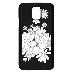 Mandala Calming Coloring Page Samsung Galaxy S5 Case (black)