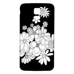 Mandala Calming Coloring Page Samsung Galaxy S5 Back Case (white) by Nexatart