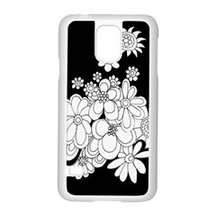 Mandala Calming Coloring Page Samsung Galaxy S5 Case (white)