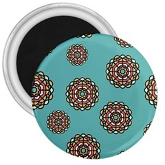 Circle Vector Background Abstract 3  Magnets by Nexatart