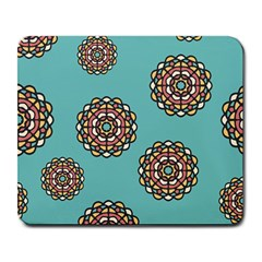 Circle Vector Background Abstract Large Mousepads
