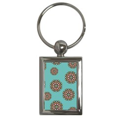 Circle Vector Background Abstract Key Chains (rectangle)  by Nexatart