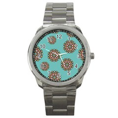 Circle Vector Background Abstract Sport Metal Watch by Nexatart