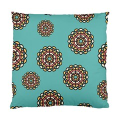 Circle Vector Background Abstract Standard Cushion Case (one Side)