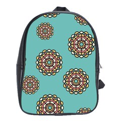 Circle Vector Background Abstract School Bags(large)  by Nexatart